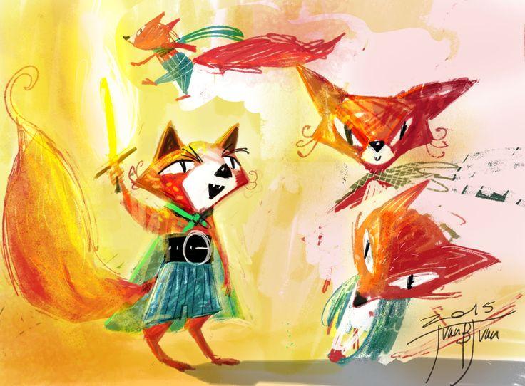 little fox character studies
