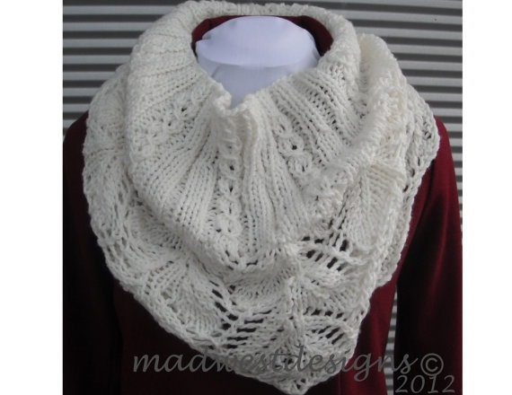 Caplet Shawl Neckwarmer Scarf One Size by madwestdesigns on Etsy, $60.00