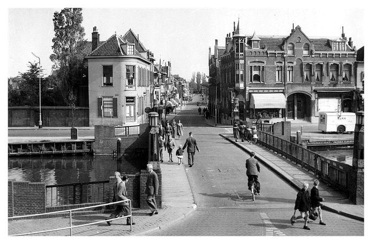 Oude Havenbrug overgaande in de Schiedamseweg-Vlaardingen