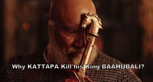 Shocker on Kattappa's Baahubali secret?