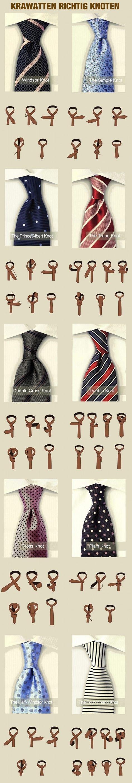 die besten 25 krawattenknoten ideen auf pinterest windsor knoten binden krawatte binden. Black Bedroom Furniture Sets. Home Design Ideas