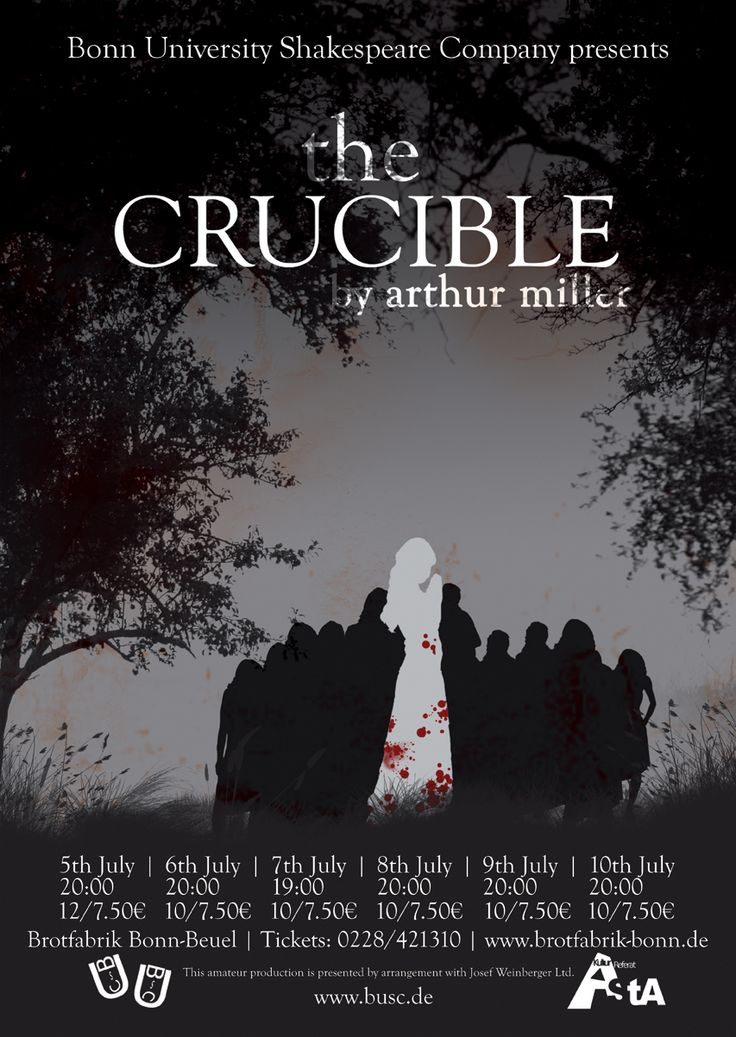 the art of persuasion in the play the crucible by arthur miller Arthur miller in new york city the strength of the play is that miller makes this exasperating dumbness precisely the reason why the economic injustice he believed that theatre would survive, because it was the art of the present tense, and audiences would still want to give.