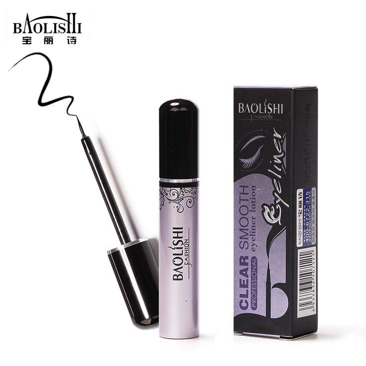 baolishi 2pcs natural long-lasting black Liquid eyeliner pencil eye makeup beauty cosmetics Eyeliner Pen Eye Liner Pen
