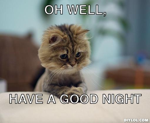 Good Night Grumpy Cat | www.pixshark.com - Images ...