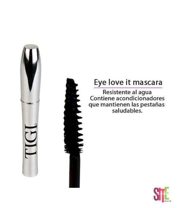Ya probaron la nueva mascara de pestañas de TIGI PERÚ ?  #sitemagazine #moda
