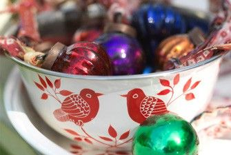 Recycled Dew Drop Tree Baubles (set of 12)