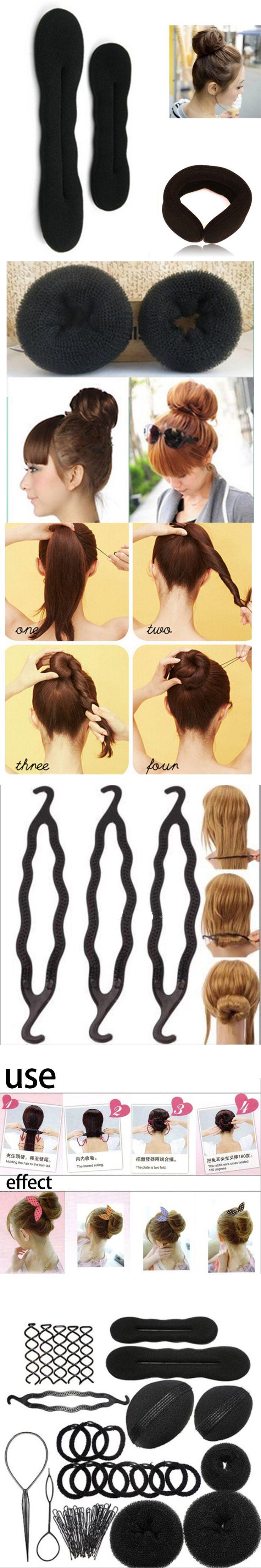 MAGIC CURLER 1 full Set Braiding hair accessories Women's Wig Curling Hair styling sponge tools Head For hairstyles Braid tool