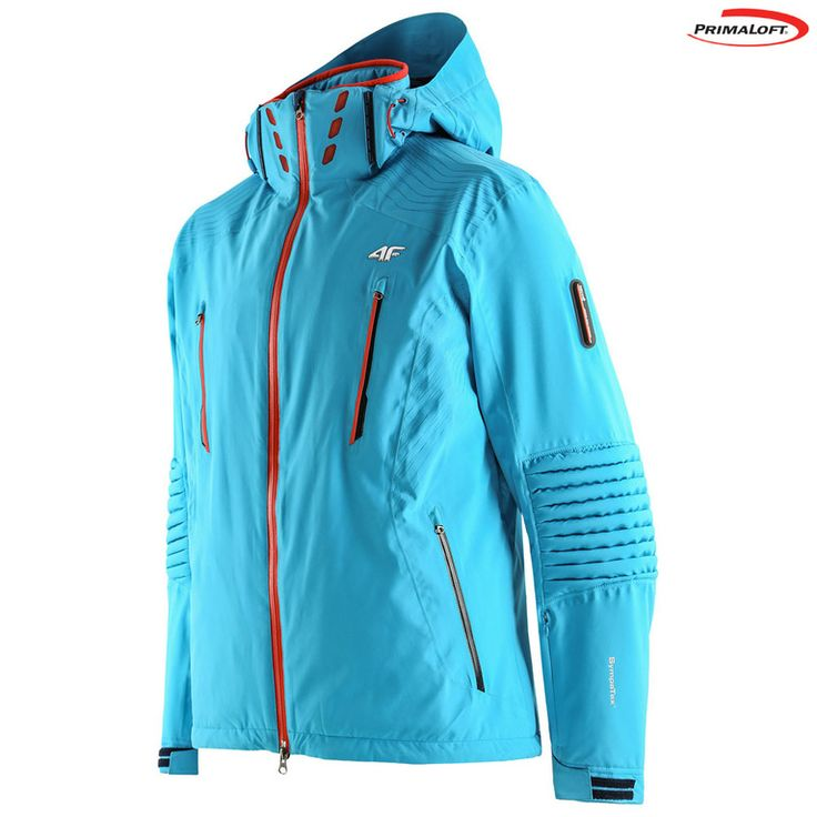 Mens Sympatex Primaloft Ski Jacket (Turquoise Performance)