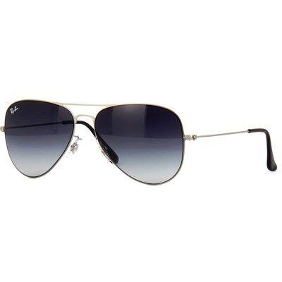Óculos de Sol Ray Ban Aviador Flat Metal - RB35131548G