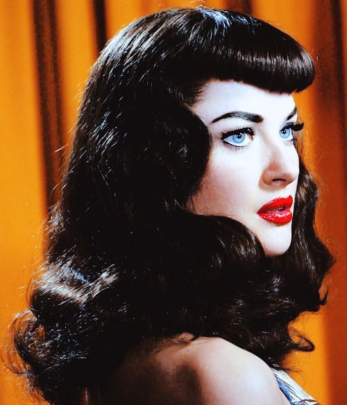"Gretchen Mol as Bettie Page in ""The Notorious Bettie Page"""