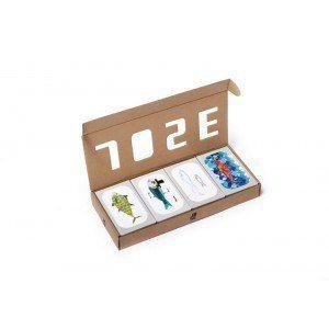 Le coffret découverte 4 boîtes sardines José Gourmet contient 4 boîtes de conserves différentes : Sardines à l'huile d'olive vierge extra, Filets de maquereaux à l'huile d'olive, Petites sardines