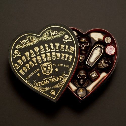 The Spooky Vegan: Conjure Up the Fatally Yours Gourmet Chocolate Box for Valentine's Day