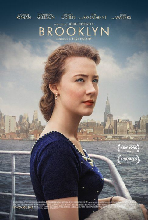Watch the movie trailer for Brooklyn on Movie-List. Directed by John  Crowley and starring Saoirse Ronan, Domhnall Gleeson, Michael Zegen and  Emory Cohen.