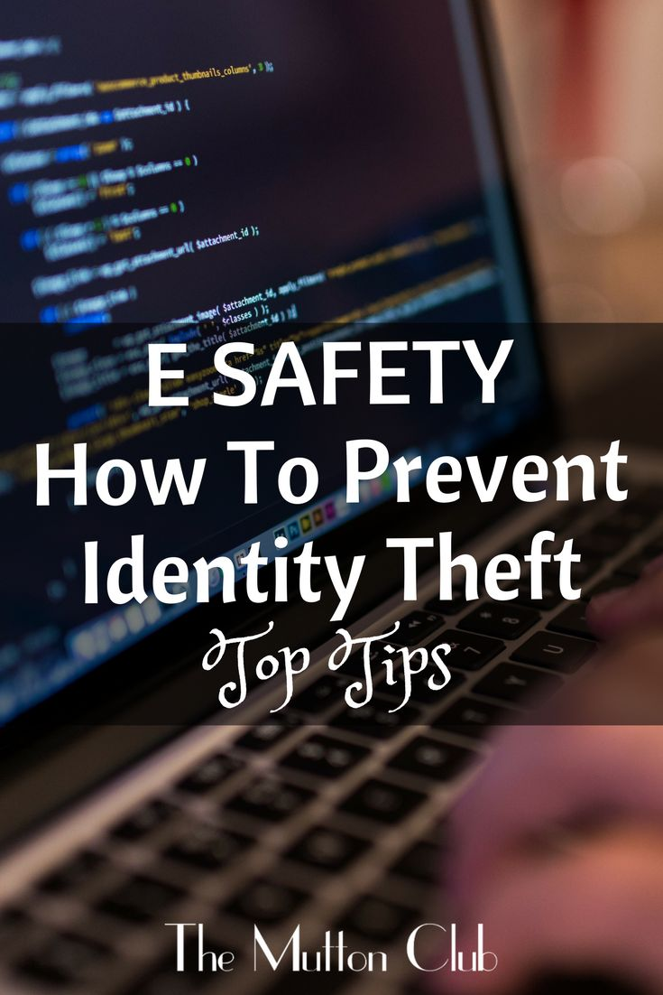 Identity theft and fraud are massive issues growing every day. Here's what you need to know about e safety and some top tips on how to protect yourself .