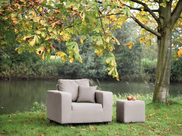 Vintage Fink Living Garten Lounge Sessel Carlo kaufen im borono Online Shop