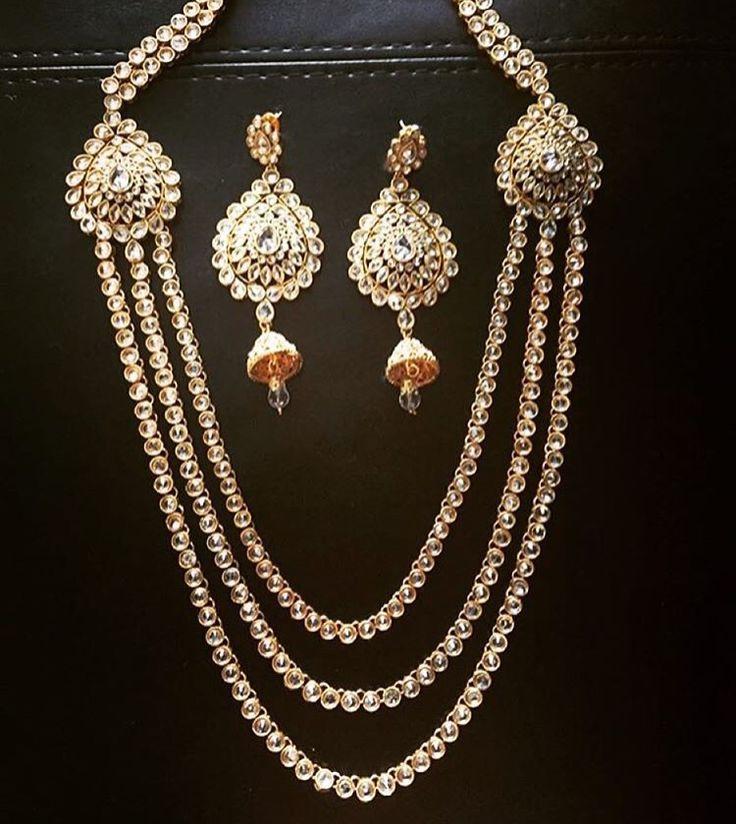 Akhar Set!!! www.SitarebyAasha.com sales@sitarebyaasha.com  #Jewelry #Jewellery #Indianwedding #Sikhwedding #Bridaljewelry #BridalJewellery #AsianBride #SitarebyAasha #PakistaniBride #Shaadi #Wedding #Bollywood #Bride #Bridal #WomensFashion #dubai #IndianBride #Indian #IndianFashion #hudabeauty #Accessories #Instadaily #Allthingsbridal #Instafashion #Instaglam #picoftheda