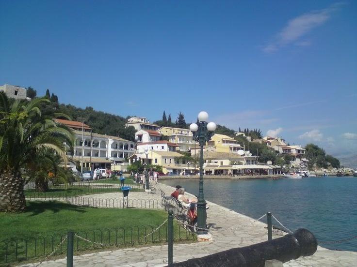 Kassiopi - fantastic fishing village in Corfu