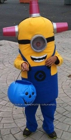 It all started with a simple question, I asked my 6 year old what he wanted to be for Halloween. His answer: a minion. Great, that was simple enough, ...