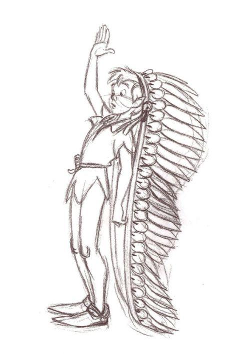 Peter Pan Concept Sketch