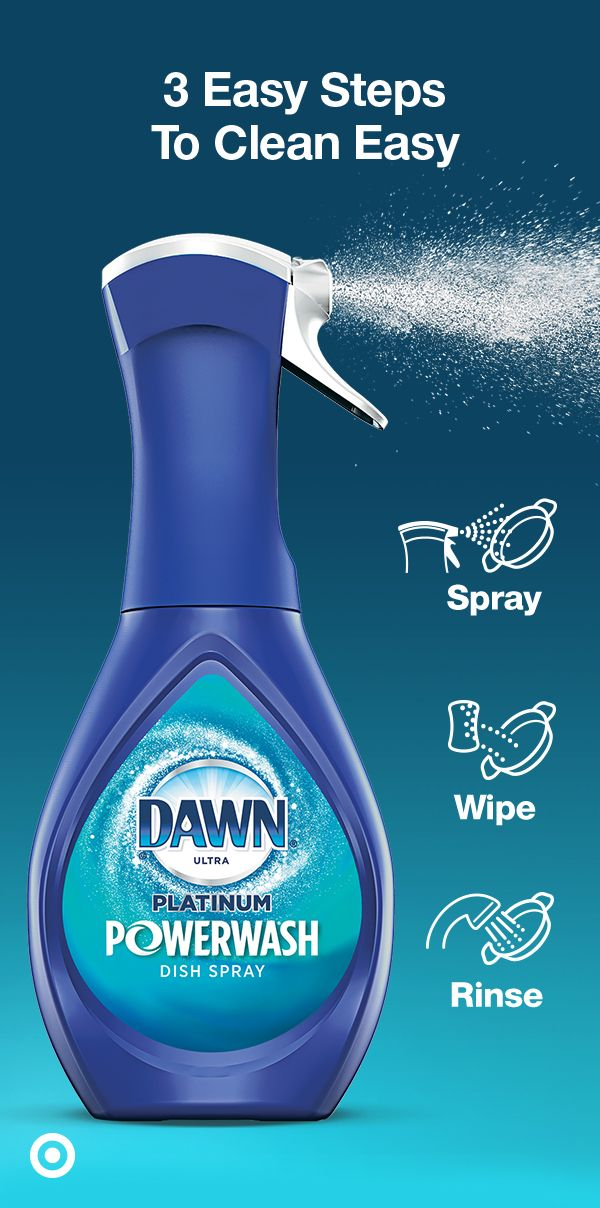 Stay Ahead Of The Mess Get Done Faster With Dawn Powerwash Dish
