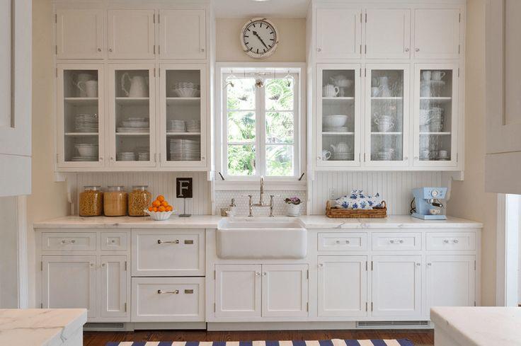 5 Ways To Redo Kitchen Backsplash (Without Tearing It Out) - http://freshome.com/kitchen-backsplash-redo/