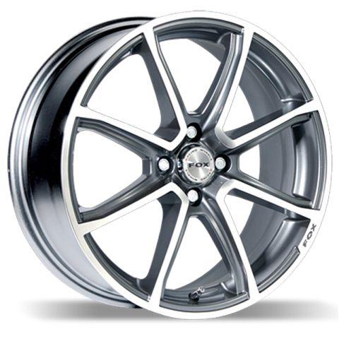 MATT CARBON GREY FOX FX2 alloy wheels #vw #bmw #audi #alloy #wheels #rims http://www.turrifftyres.co.uk
