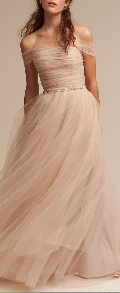 ramona gown. I like the color for a change and it's so whispy/dreamy.