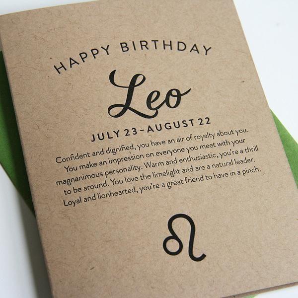 Best 25+ Happy Birthday Leo Ideas On Pinterest