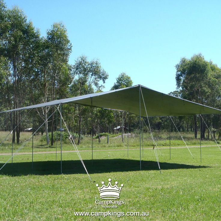 MEGA KIT | CampKings |  $689.00 MEGA KIT is our Extra Large sized shelter solution designed for solo set up completely in under 60 minutes. Suitable for very large sized campsites it is recommended for large groups of campers and families and is a great huge sized shelter solution at grassed events.