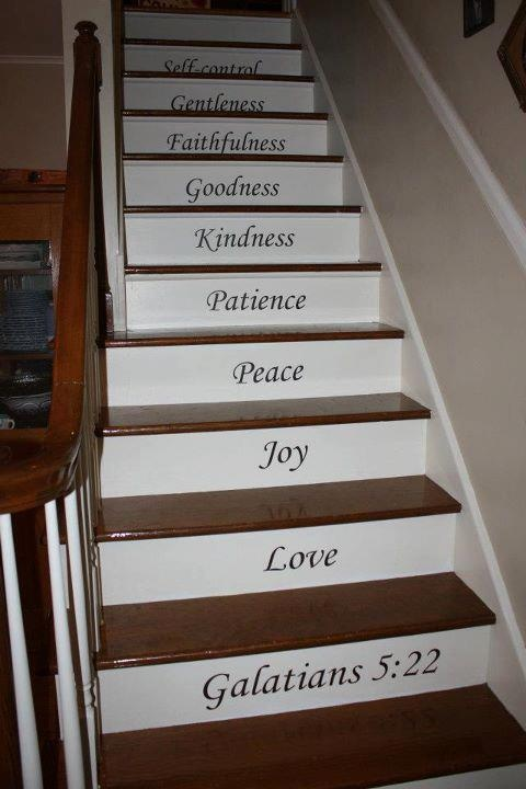 Custom your stairs with Uppercase Living! This is very pretty, I love it! You can do anything with Uppercase Living! http://sharonm.uppercaseliving.net