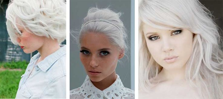 How to get white hair, dye, without bleach, naturally at home