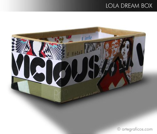 VICIOUS LOLA - paper collage