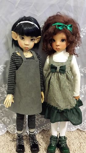 C's Girls, Kaye Wiggs Miki & Layla by Sweet Creations Doll Fashions, via Flickr