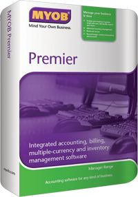 MYOB Premier Software v 13