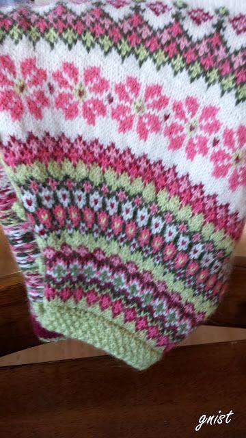 652 best Knitting Fair Isle - Rundfelling og raglanfelling images ...