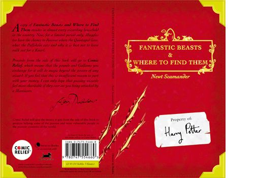 Harry Potter Schoolbook  Fantastic Beasts and Where to Find Them  Design & illustration - www.elhorno.co.uk
