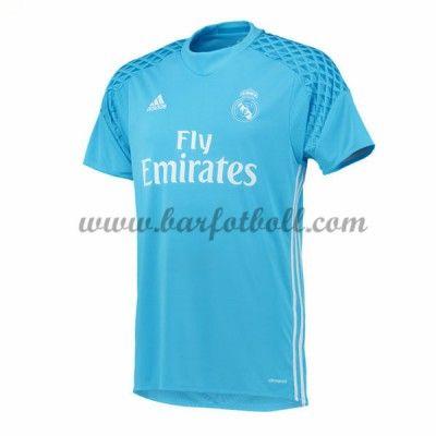 Real Madrid Fotbollströja 2016-17 Målvakt Hemma Tröjor