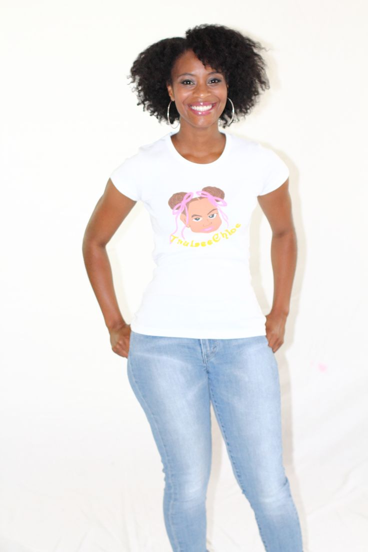 TruLeeChloe Tee (White) - $27.00 | Sizes: S, M, L, XL