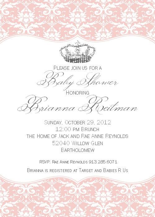 baby girl shower vintage diy baby shower invitations princess baby