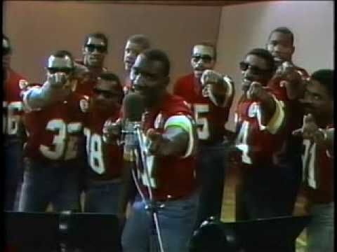 """1986 """"Thanks to the 12th Man"""" - Redskin Players Video...REDSKINS RAP SONG..FUNNY by westcoastredskin, youtube"""