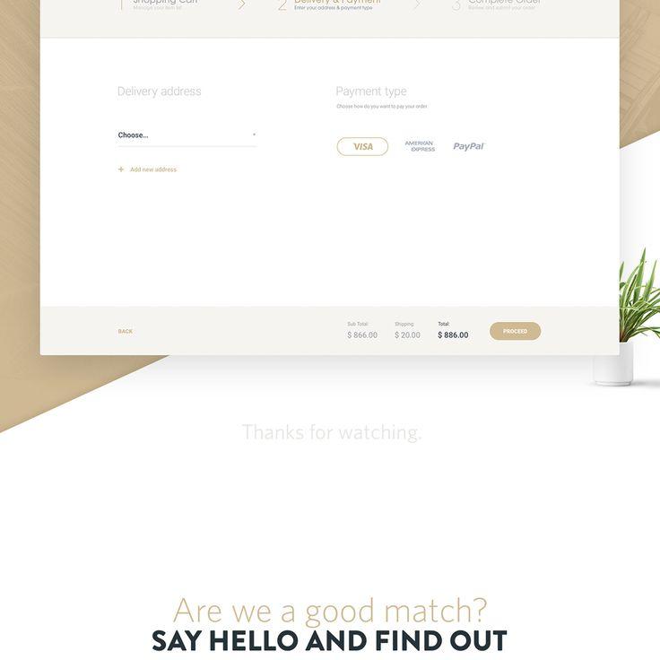 INSELLER Online Luxury Shop on Web Design Served