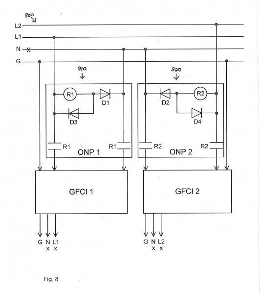 Gfci Wiring Diagram Feed Through Method Valid Wiring