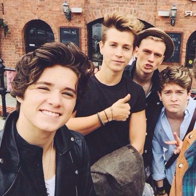 Brads smiles so cute!!!