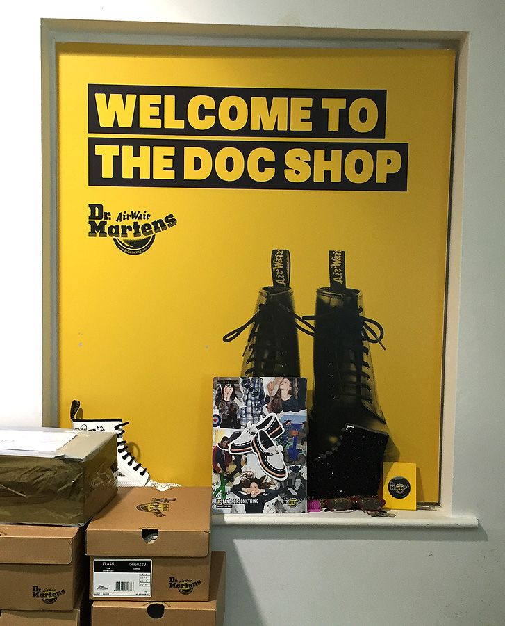Visiting the Dr Martens shoe factory shop AKA The Doc Shop — Northampton shoes