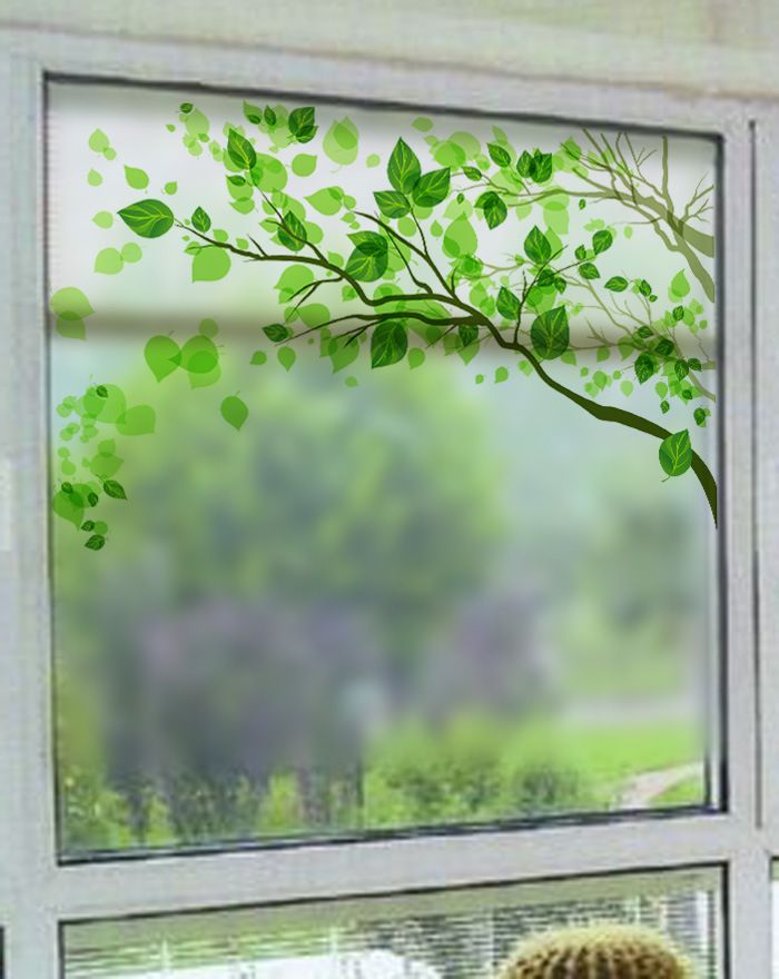 2016 Window removable tinting frosted stained glass film sticker Window privacy adhesive film for bathroom bedroom