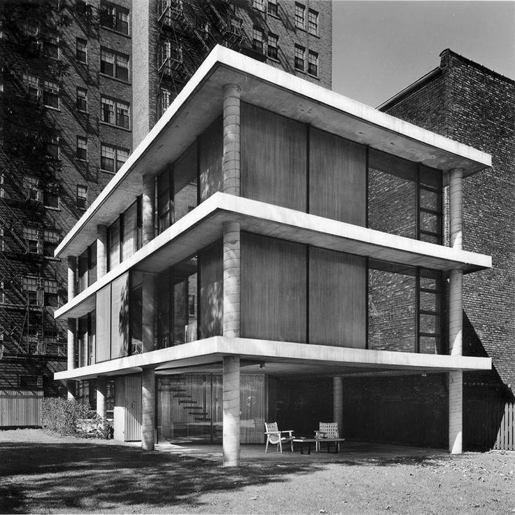 Helstein House, Chicago, Illinois, 1951 — Bertrand Goldberg