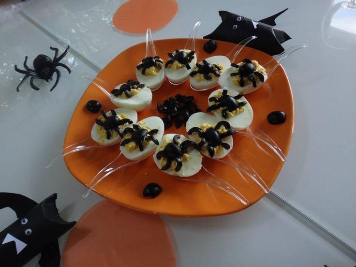 Les 35 meilleures images du tableau halloween sur pinterest hama lison et perles hama - Idee repas halloween ...