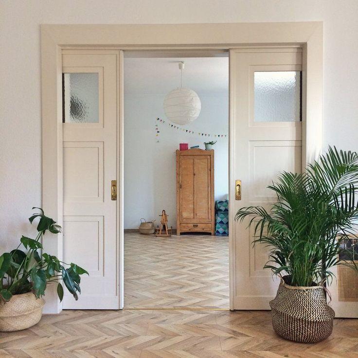 Die besten 25+ Flügeltür wohnzimmer Ideen auf Pinterest Interne - wohnzimmer mit glaswnde