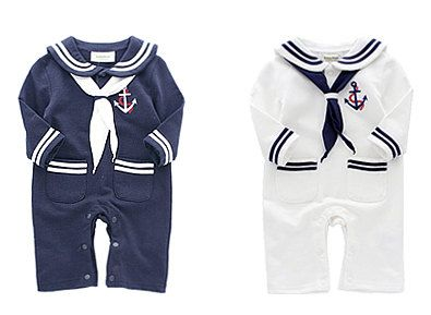 Sailor costume Navy Funny Romper infant suit and Toddler shirts for Toddler Tshirts on Etsy, $29.00