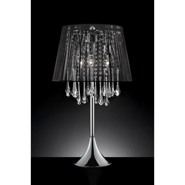 Aadi 28 Table Lamp In 2020 Lamp Table Lamp Crystal Table Lamps